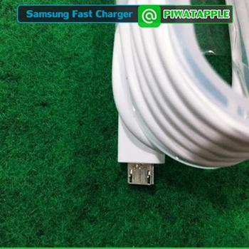 """สายชาร์จ Samsung ของแท้ดูยังไง วิธีดูสายชาร์จซัมซุงแท้ อีกวิธีหนึ่ง ให้ดูตรงหัวของสาย ในส่วนของสีเงิน คือดู Detail ใกล้ ๆ แล้วเพื่อน ๆ จะเห็นตัวอักษรนูน ๆ เล็ก ๆ และจะพบกับคำว่า """"U S"""" ที่เว้นวรรคช่องไฟนิดหน่อย"""