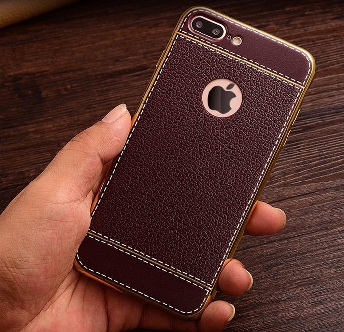 เคส iPhone 7 สีน้ำตาล