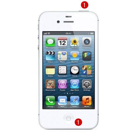 iPhone 4 จอดับ