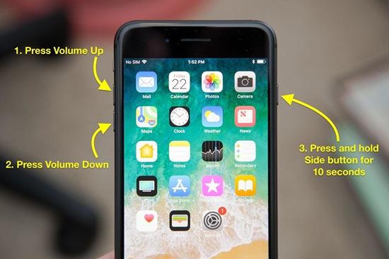 iPhone 8 จอดับ